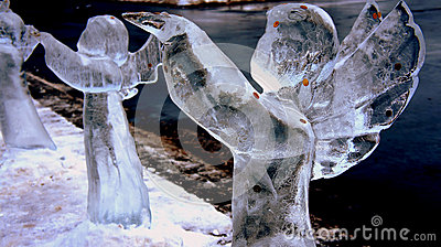Ice Angel Editorial Stock Image
