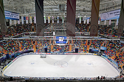 Ice arena Editorial Image