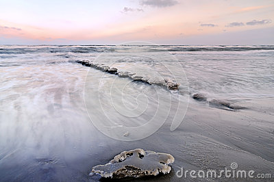Ice on Baltic sea