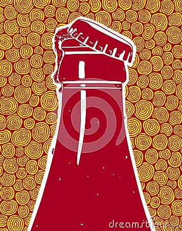 Ice Beer Stock Illustration - Image: 62839232