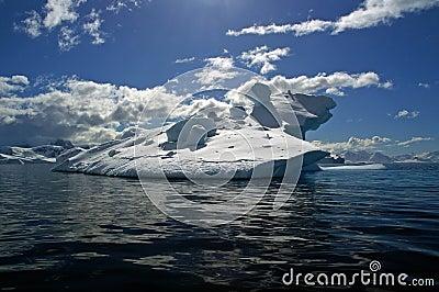 Ice berg antarctica