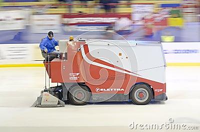 Ice car Editorial Image