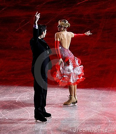 Ice Christmas Gala 2010, Milan, Italy Editorial Stock Image