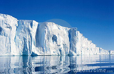 Ice Cliffs of the Vanderford Galcier