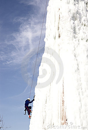 Free Ice Climber Royalty Free Stock Photography - 72447
