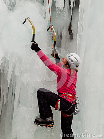 Free Ice Climbing Stock Images - 42051434