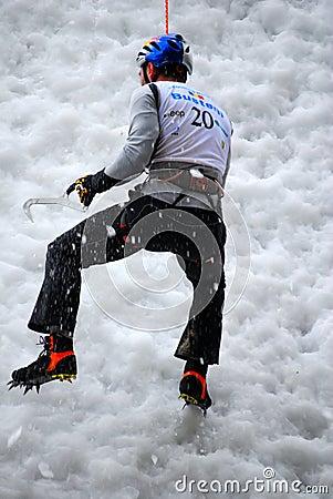 Free Ice Climbing Stock Photos - 8091243