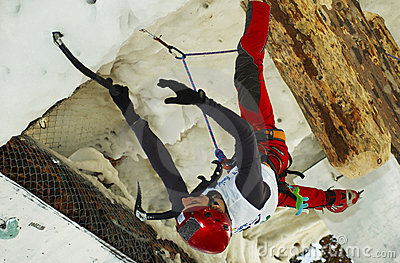 Ice Climbing World Championship Busteni 2007 Editorial Photography
