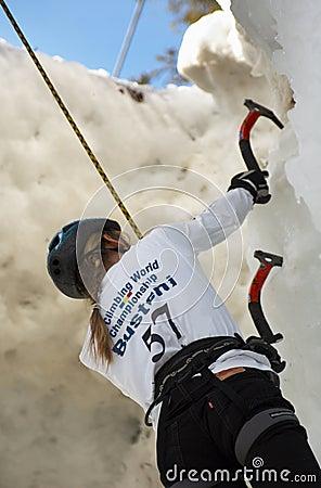 Free Ice Climbing World Championship Busteni 2007 Royalty Free Stock Images - 1919009