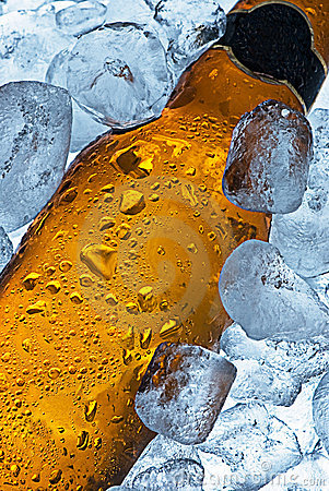 iced cold beer