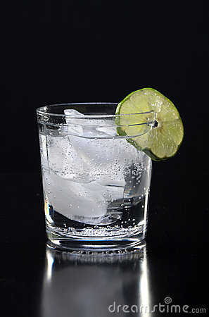 Ice cold beverage.