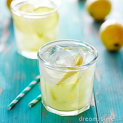 Free Ice Cold Lemonade Stock Photo - 55804580