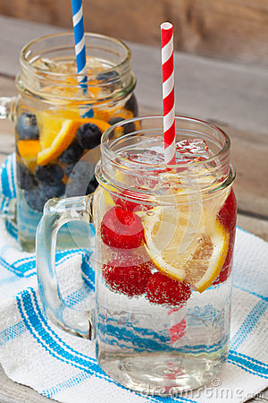 Sparkling Fruit Drinks