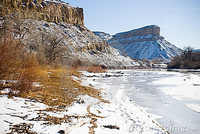 Ice on the Colorado River