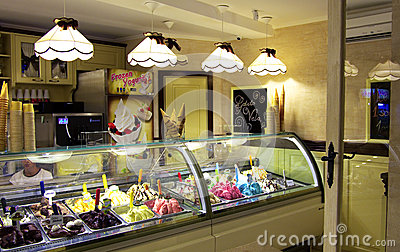 Ice cream Editorial Stock Image
