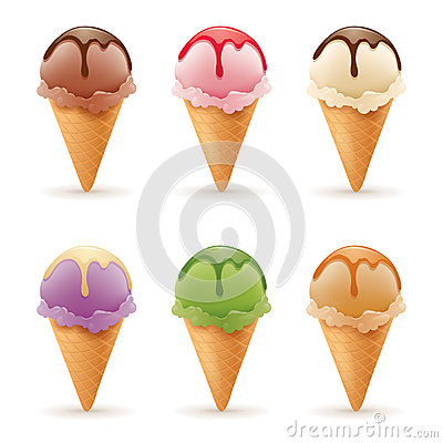 Free Ice Cream Royalty Free Stock Photo - 52400395