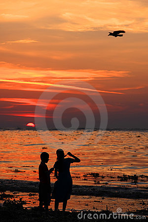 Free Ice Cream At The Beach Royalty Free Stock Photos - 6196468