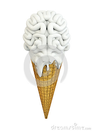 Ice cream brain
