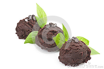 Ice cream chocolate