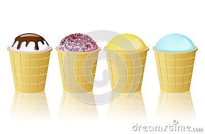 Ice-cream cone.