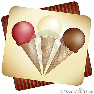 Free Ice Cream Cones Stock Photos - 2935813