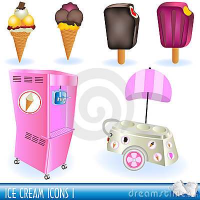 Ice cream icons 1