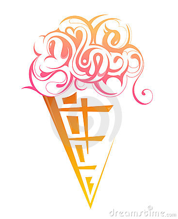 Ice cream shape