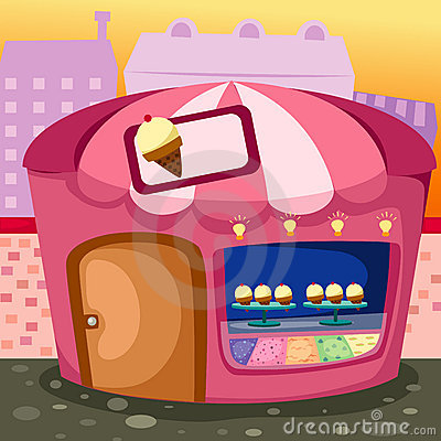 Free Ice Cream Shop Stock Images - 16820664