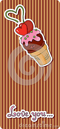Ice cream tag