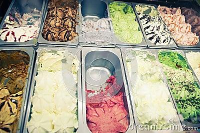 Ice-cream trays