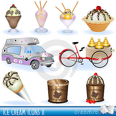 Ice creams icons 2
