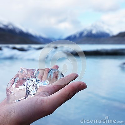 Free Ice Crystal From Mount Cook, New Zealand Royalty Free Stock Photography - 126510807
