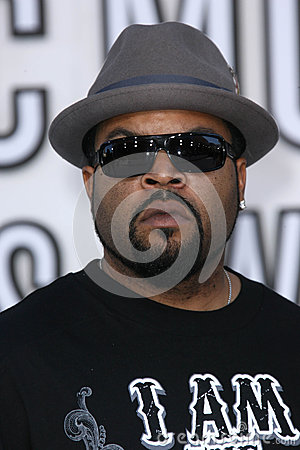 Ice Cube Editorial Image