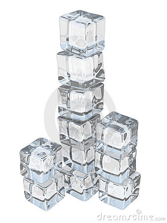 Free Ice Cube Tower Stock Images - 5223054