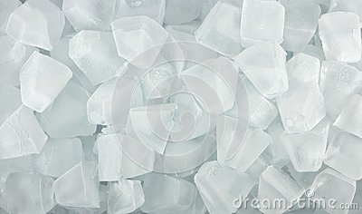 Ice cubes for background