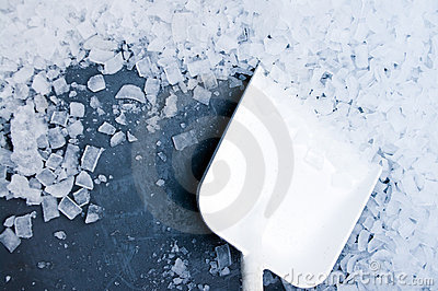 Ice cubes industrial