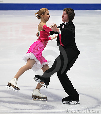Ice Dance Editorial Stock Photo