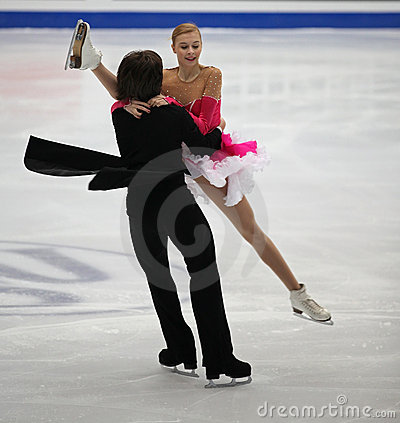 Ice Dance Editorial Photo
