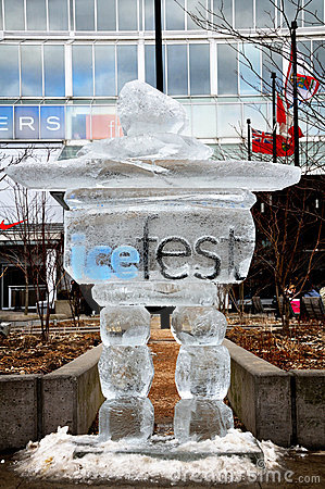 Ice Fest Editorial Photography