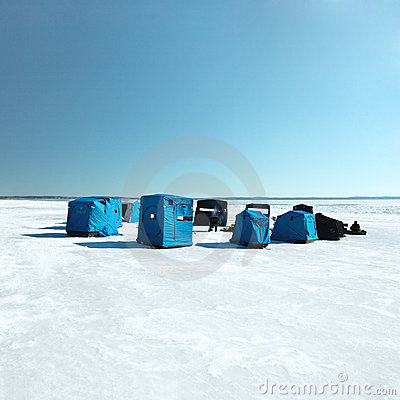 Free Ice Fishing Stock Photos - 2038083