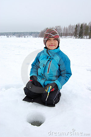 Free Ice Fishing Stock Photos - 20550543