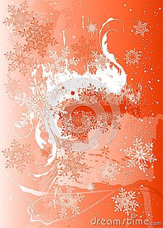 Ice, flowers & snowflakes