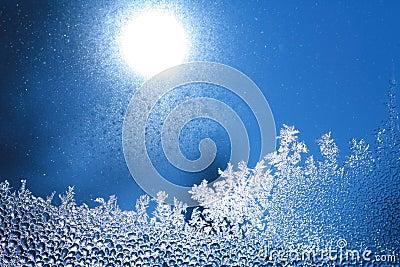 Ice frost window