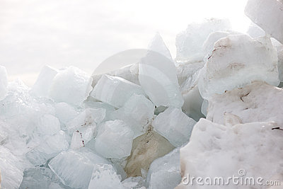 Ice heap