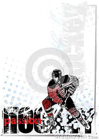 Free Ice Hockey Background Stock Image - 12991771