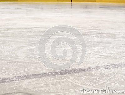 Ice hockey blue line