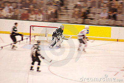Ice Hockey Blur