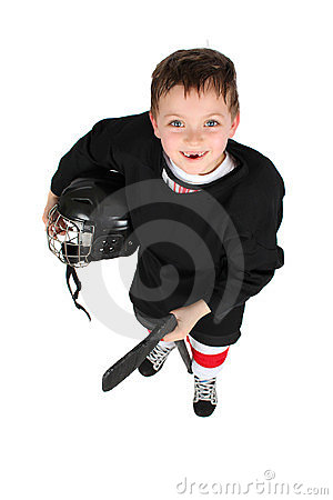 Free Ice Hockey Boy Royalty Free Stock Photography - 23370527