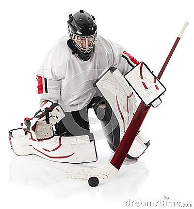 Free Ice Hockey Goalie Stock Image - 14423681