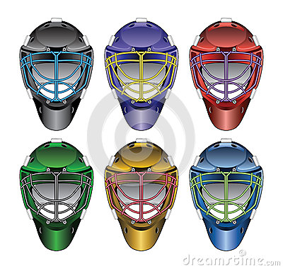 Ice Hockey Goalie Masks